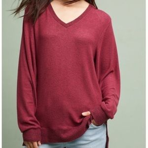 Brushed Fleece Tunic Top